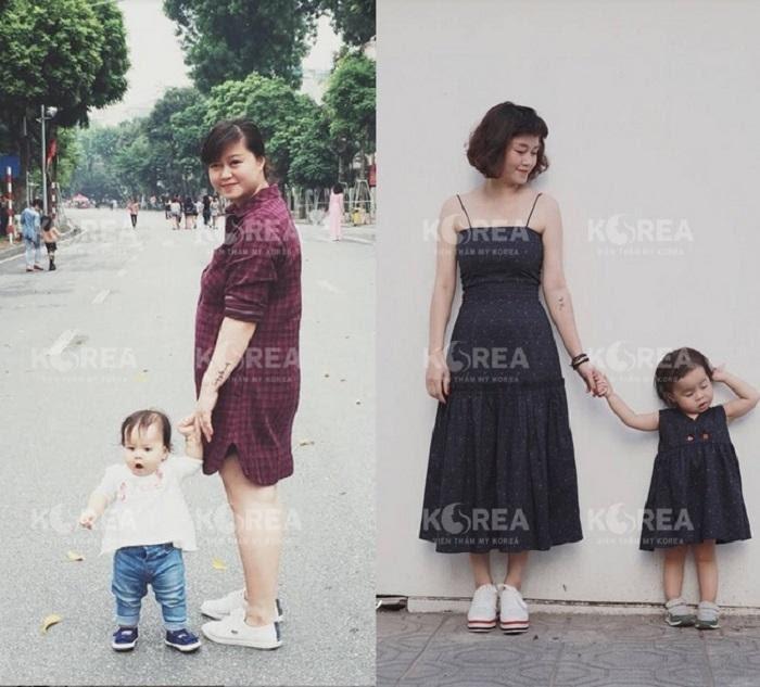 Chị Dương giảm cân sau sinh thành công với Max Thin Lipo