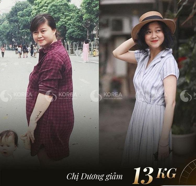 Là một nhà thiết kế thời trang chị Dương cần nhanh chóng giảm cân sau sinh. May mắn Max Thin Lipo đã giúp chị giảm 13kg thành công!