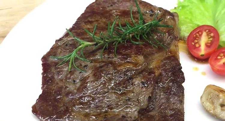 Thịt bò áp chảo giảm cân hiệu quả