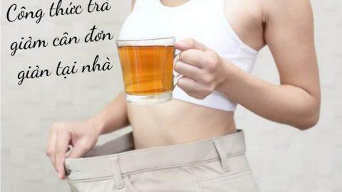 8 công thức trà giảm cân đơn giản tại nhà