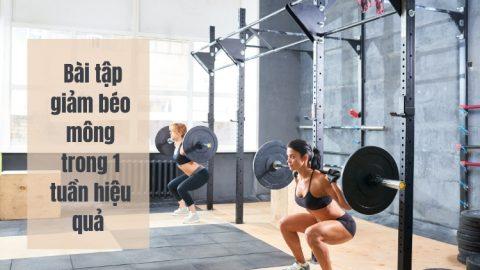 Cách giảm béo mông trong 1 tuần hiệu quả
