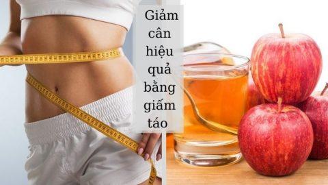 Cách sử dụng giấm táo để giảm cân