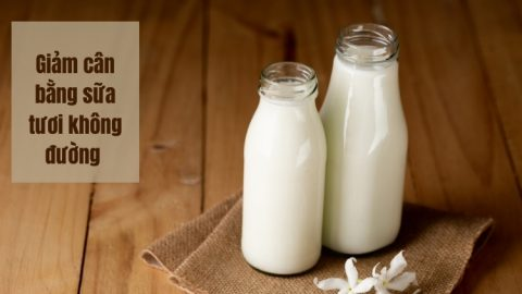 Giảm cân bằng sữa tươi không đường có thực sự hiệu quả như lời đồn thổi?