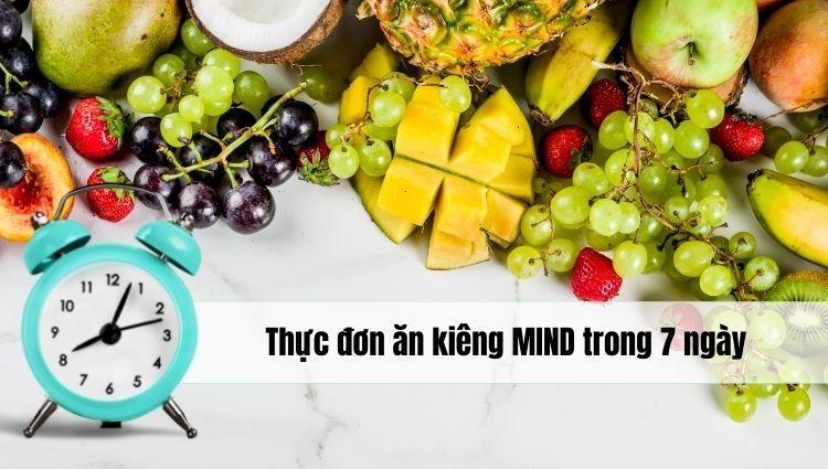Chế độ ăn kiêng MIND có thể hiểu là chế độ ăn giúp cải thiện trí nhớ và giữ cơ thể khỏe mạnh