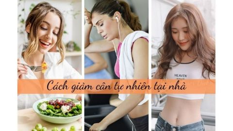 Cách giảm cân tự nhiên tại nhà