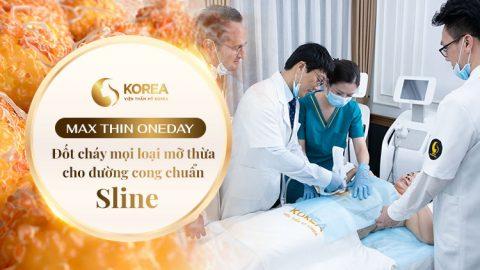Công nghệ giảm béo Max Thin Oneday được nhập khẩu từ Hàn Quốc được chuyển giao bởi Tập đoàn Caregen