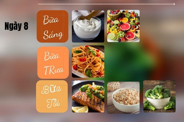Thực đơn ăn kiêng Địa Trung Hải ngày 8