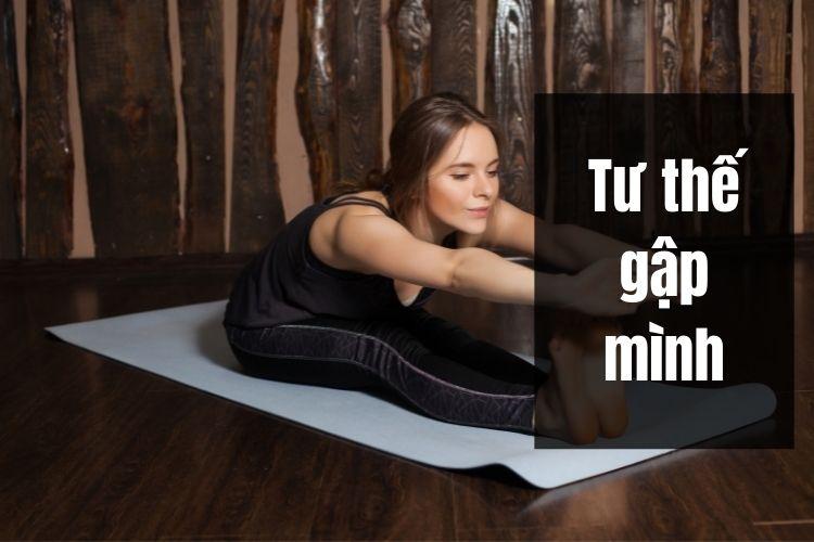 Bài tập Yoga giảm cân hiệu quả với tư thế gập mình