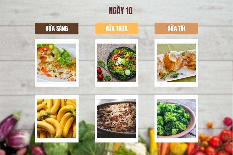 Thực đơn ăn kiêng Macrobiotic ngày 10