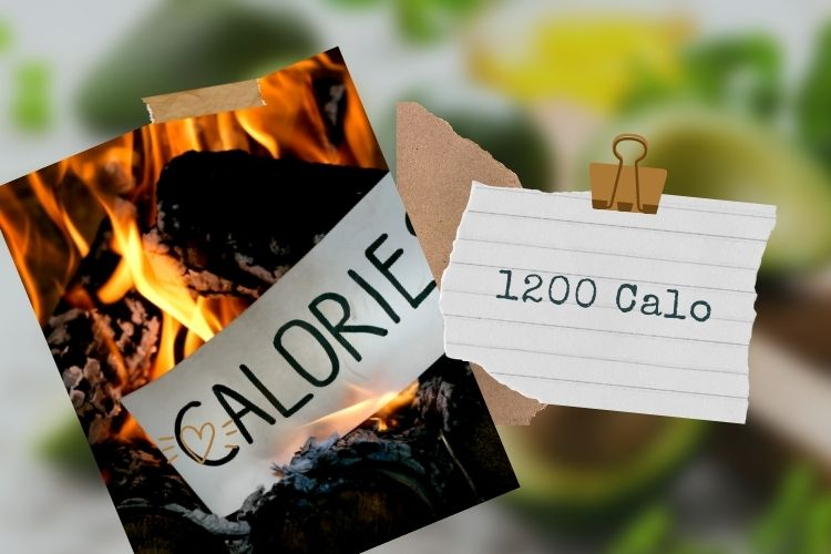 1.200 calo với đầy đủ protein tốt, chất béo lành mạnh và carbs phức tạp