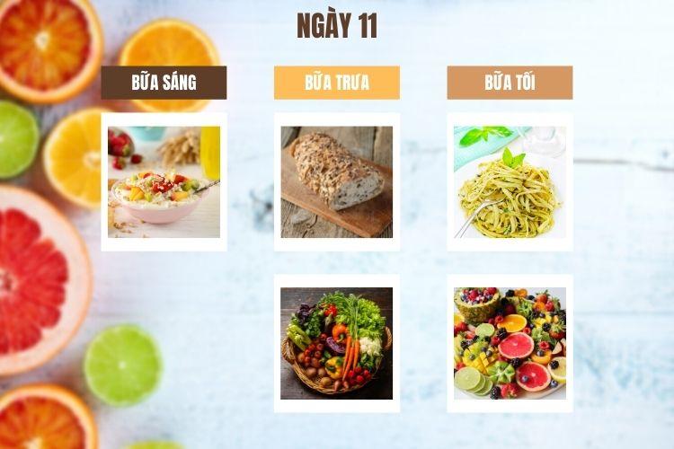 Thực đơn ăn kiêng Địa Trung Hải ngày 11