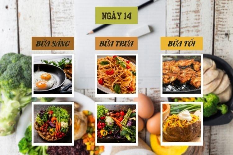 Thực đơn ăn kiêng Địa Trung Hải ngày 14