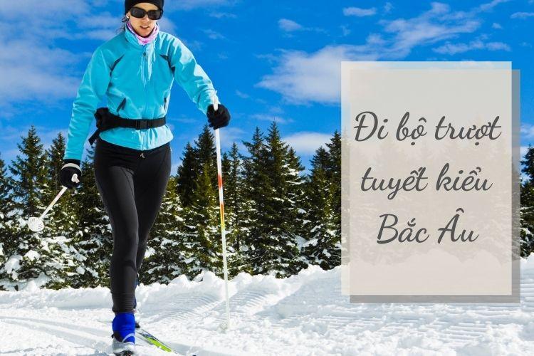 Đi bộ trượt tuyết kiểu Bắc Âu