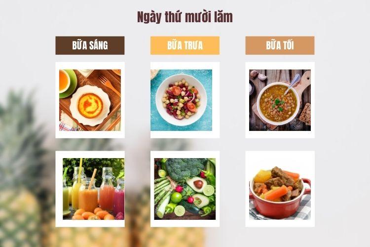 Thực đơn ăn kiêng Macrobiotic ngày 15