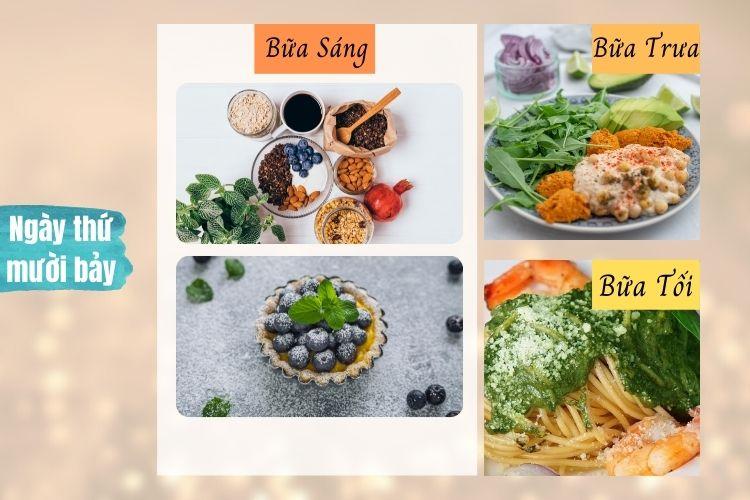 Thực đơn ăn kiêng Macrobiotic ngày 17