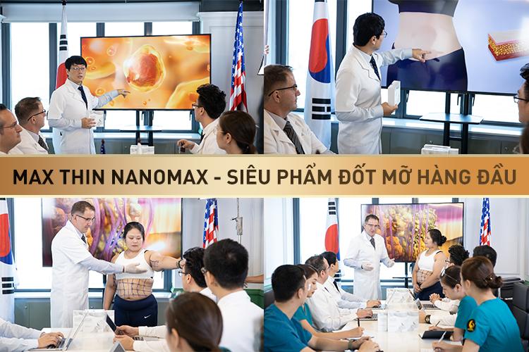 Giảm béo bằng công nghệ Max Thin Nanomax hiệu quả nhanh gấp 10 lần công nghệ cũ