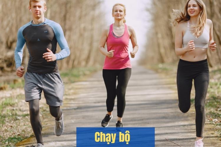 Chạy bộ giúp cơ bắp chân, mông, đùi săn chắc, có đường cong rõ ràng hơn