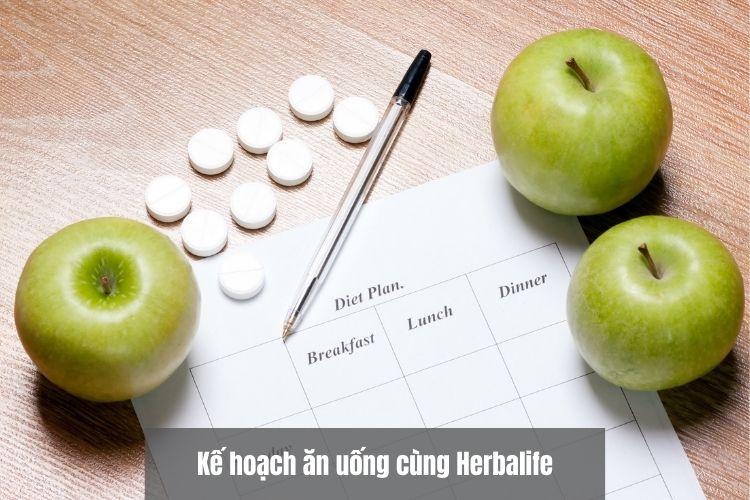 Kế hoạch ăn uống cùng Herbalife