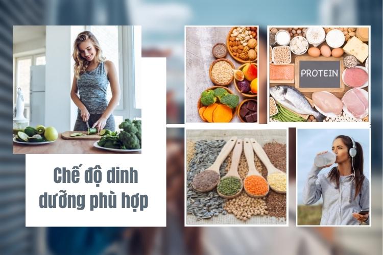 Dinh dưỡng đóng 70% vai trò trong kết quả giảm cân thành công hay không