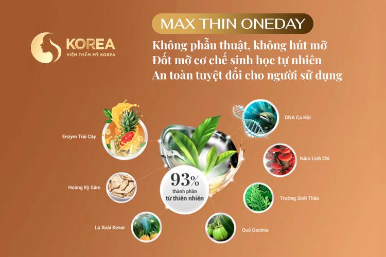 Công nghệ giảm béo Max Thin Oneday được đánh giá rất an toàn cho người cao tuổi
