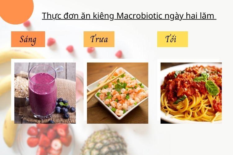 Thực đơn ăn kiêng Macrobiotic ngày 25
