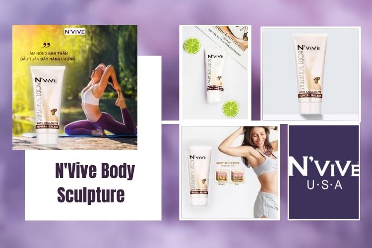 N'Vive Body Sculpture thương hiệu nổi tiếng của Mỹ có chất lượng được đánh giá cao