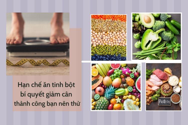 Hạn chế ăn tinh bột bí quyết giảm cân thành công bạn nên thử