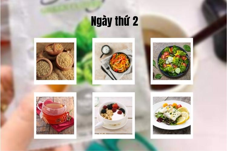 ăn kiêng theo chế độ phân ly ngày 2
