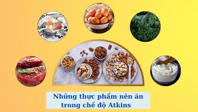 Đây là những thực phẩm nên ăn trong chế độ này