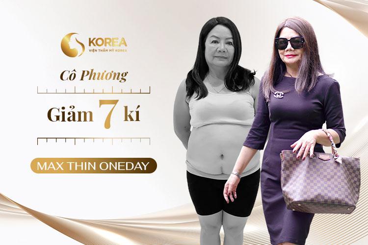 Cô Phương cảm thấy rất vui khi cân nặng và bệnh lý đề được cải thiện rõ rệt sau khi giảm béo Max Thin Oneday