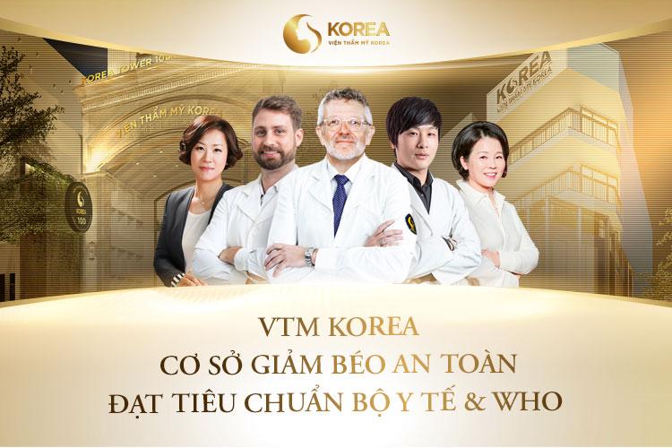 Viện thẩm mỹ Korea là cơ sở thực hiện Max Thin Oneday uy tín nhất hiện nay