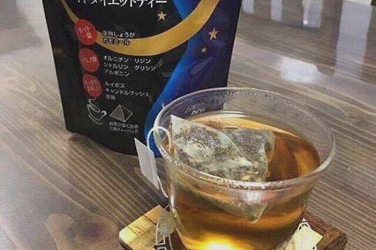 Cách sử dụng Trà giảm cân Nhật Bản Orihiro