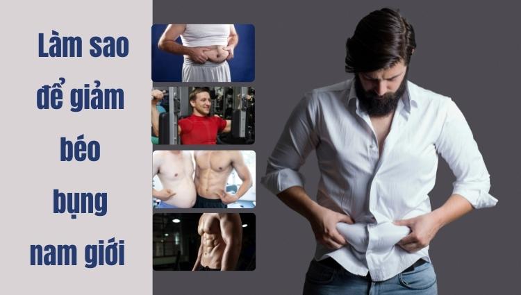 Béo bụng ở nam giới có nhiều dấu hiệu rõ ràng