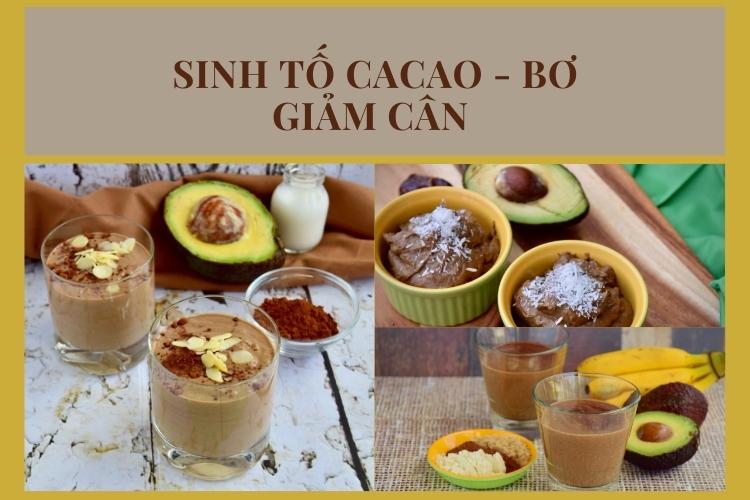 Cacao và bơ cũng là bộ đôi vừa lành mạnh vừa ngon miệng