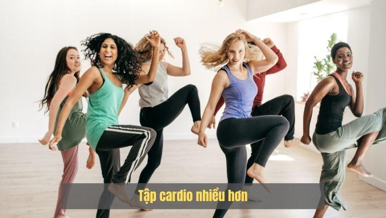 Các bài tập Cardio được đánh giá có khả năng đốt mỡ giảm cân rất cao