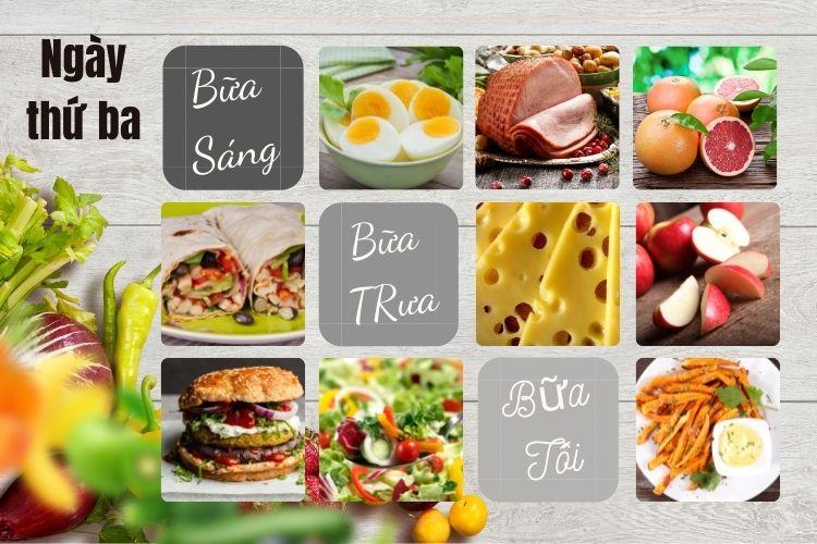 Thực đơn ăn kiêng Macrobiotic ngày 3