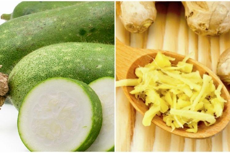 Bí đao nấu gừng - món ăn đơn giản hỗ trợ giảm mỡ cực tốt