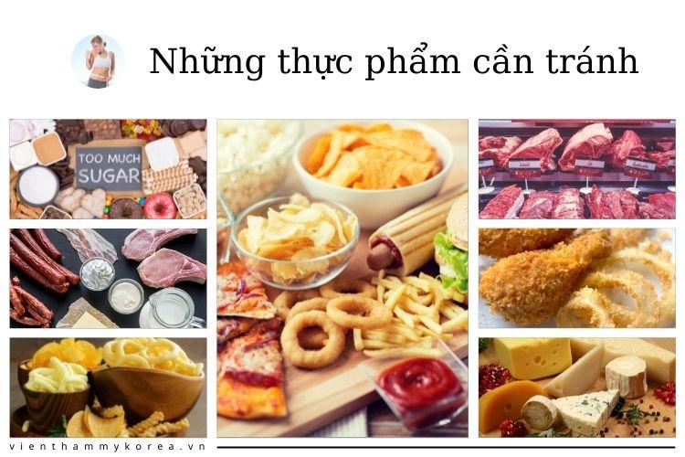 Hãy ghi nhớ những thực phẩm cần tránh này nhé