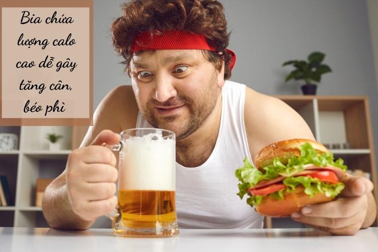 Rượu, bia và các chất kích thích ngăn cản quá trình giảm cân hiệu quả