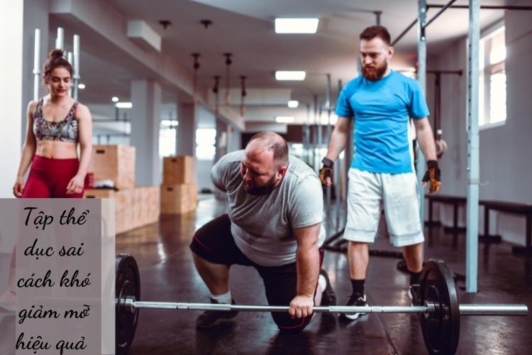 Bạn tập luyện nhưng không thể giảm cân?