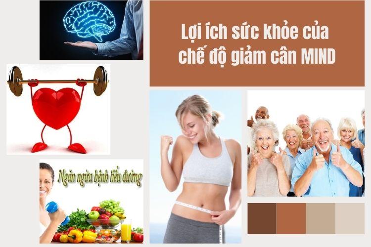 Chế độ giảm cân Mind được tin rằng đem lại nhiều lợi ích cho sức khỏe