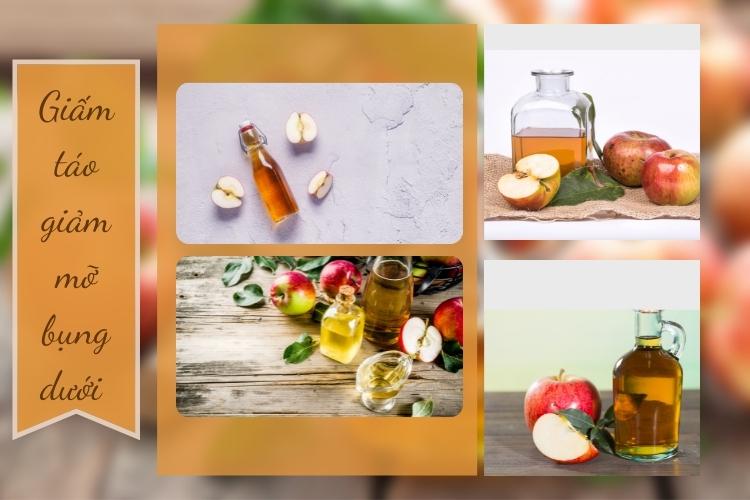 Thêm một chút giấm táo vào chế độ ăn uống để giảm cân là cách được nhiều người lựa chọn