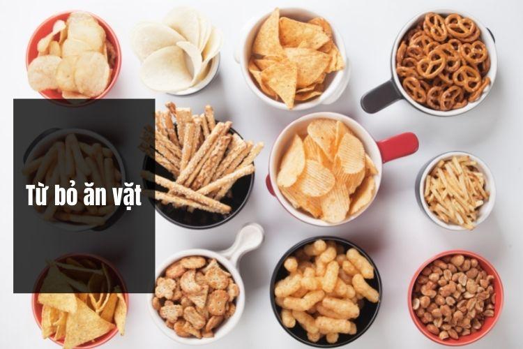 Tránh xa đồ ăn vặt có thể giúp bạn làm giảm đáng kể lượng calo nạp mỗi ngày