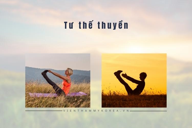 Tư thế con thuyền - Bài tập Yoga giúp giảm mỡ bụng trên hiệu quả