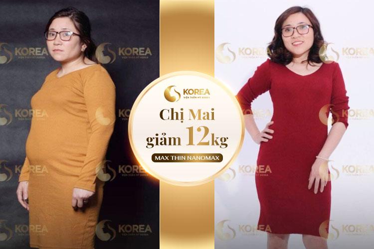 Chị Mai tìm lại cuộc sống mới sau khi giảm béo thành công với Max Thin Nanomax
