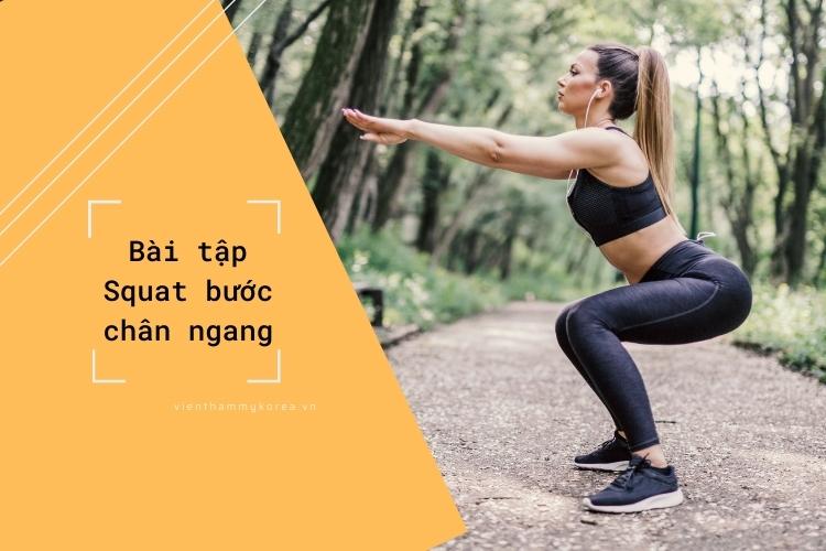 Squat giúp săn chắc phần đùi và mông, thúc đẩy quá trình trao đổi chất ở cơ thể thấp hơn và loại bỏ chất béo