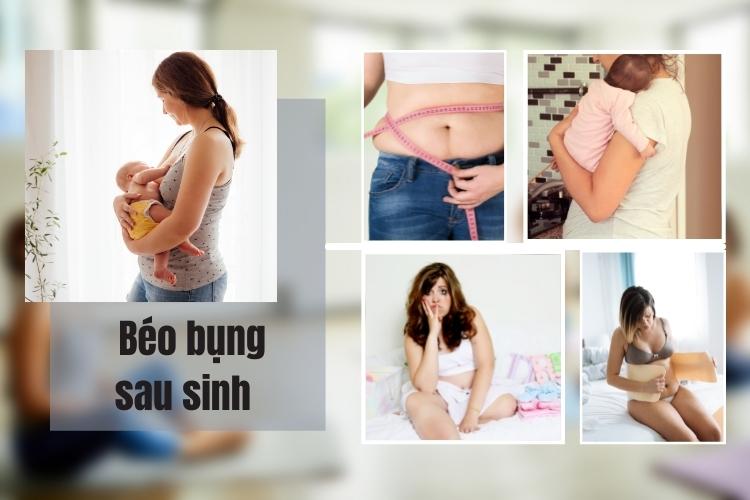 Béo bụng sau sinh khiến các bà mẹ rất đau đầu