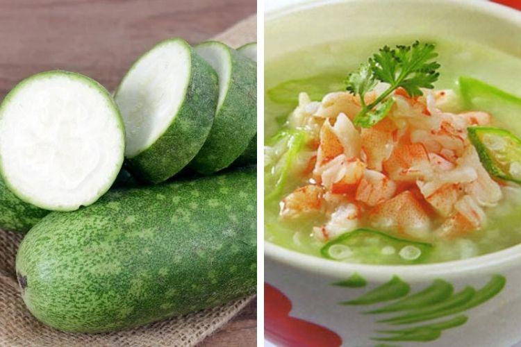 Canh bí đao nấu tôm khô - món ăn giàu dinh dưỡng, nhưng vẫn có tác dụng giảm cân hiệu quả