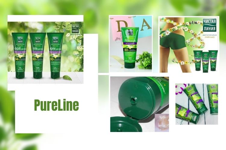 Thành phần PureLine hoàn toàn thiên nhiên nhân sâm, bơ hạt mỡ, Vitamin B3, cùng các loại thảo mộc
