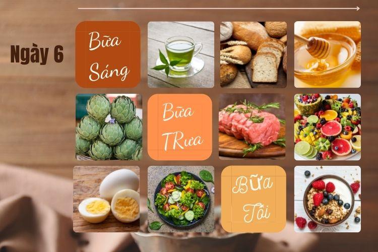 Thực đơn ăn kiêng để giảm 5kg trong 1 tháng ngày 6
